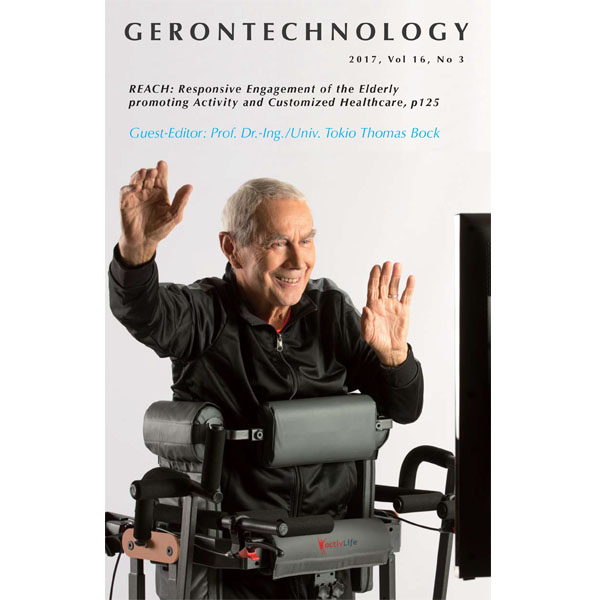 Gerontechnology cover