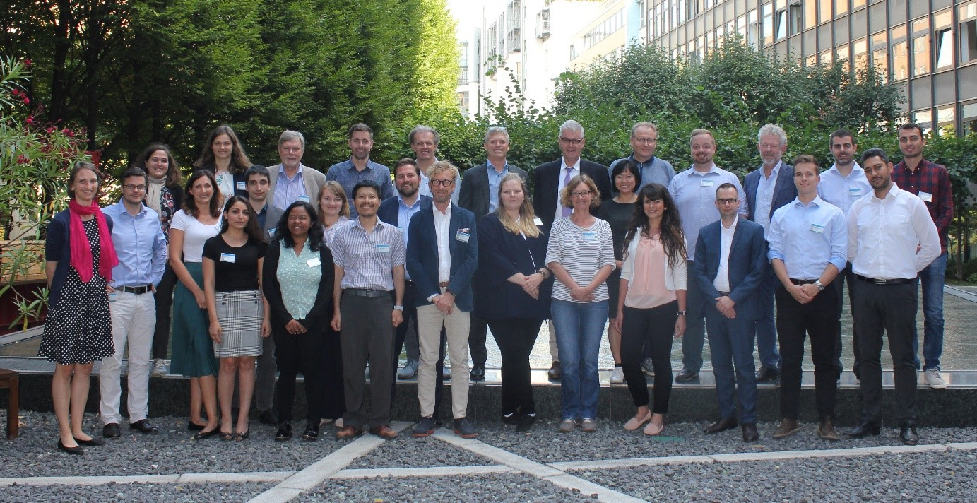 3rd consortium meeting group shot