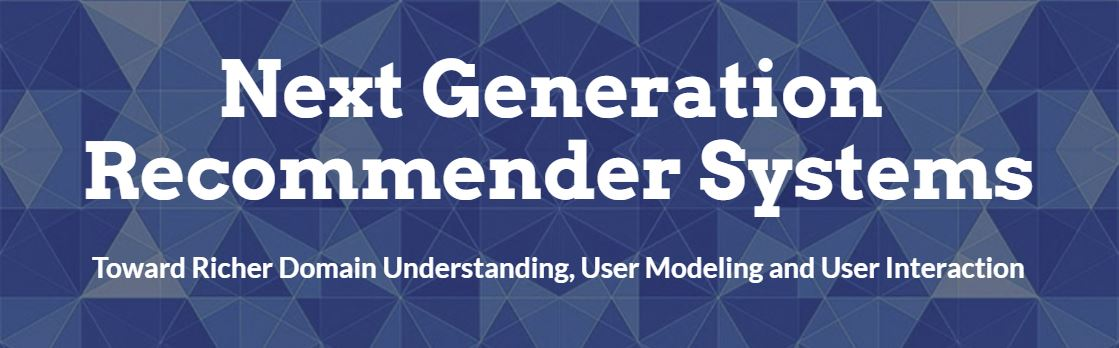 Google next gen recommender systems